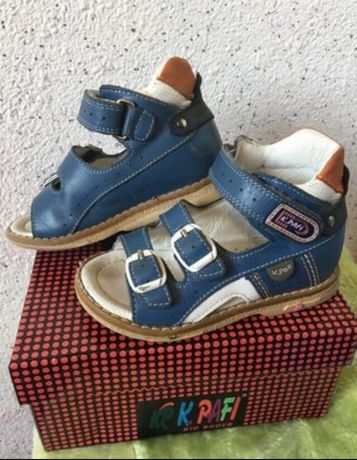 сандалии кожаные Турция Kemal Pafi р.23, стелька 14,5 см