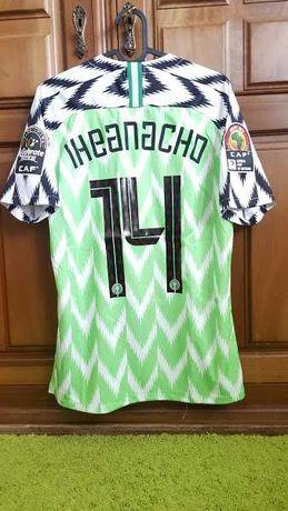 Envio grátis - #14 Iheanacho - CAF - Nigeria - Tamanho S