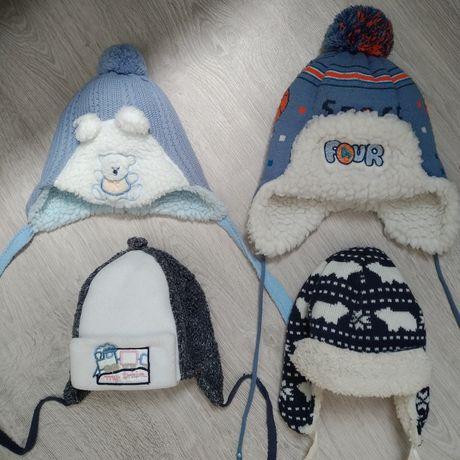Зимня детская шапка czapka jamiks nutmeg зима мальчик