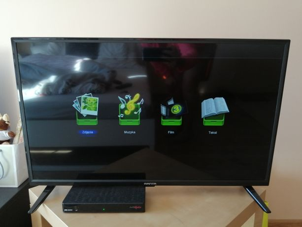 Telewizor - MANTA- LED - 32 Cale - DVB-C/T MPEG4 - SUPER OKAZJA !!!
