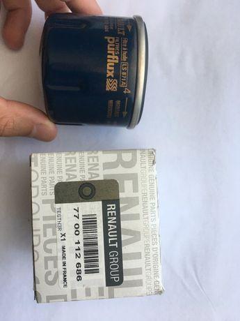 Фильтр масляный Renault kangoo 1,2/1,4 purflux