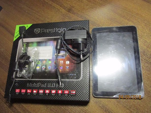 Планшет Prestigio MultiPad 8.0 HDDual Core Tablet PC