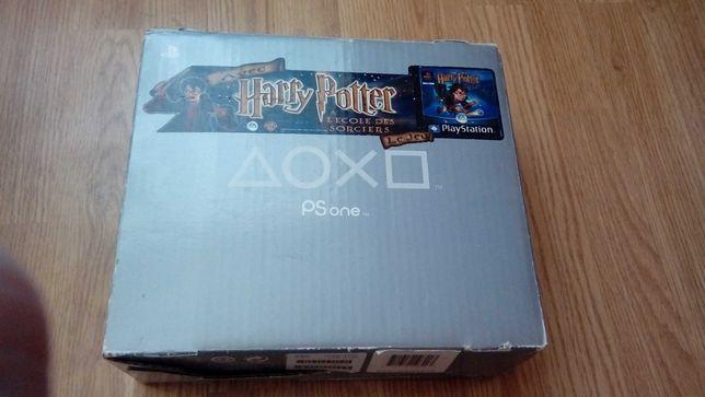 PlayStation PSone + Harry Potter zafoliowany - KOMPLET W PUDEŁKU