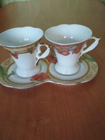 Кофейные чашки Дуэт