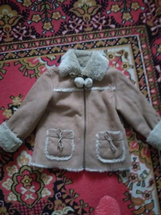 Продаю детскую лёгкую,удобную дубленку Николаев - изображение 1