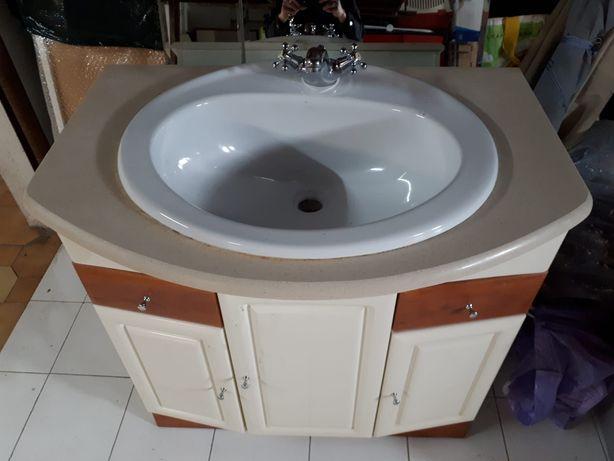 Móvel dw wc com lavatório