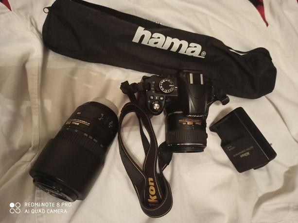 Sprzedam Nikon D3100 + 2 obiektywy