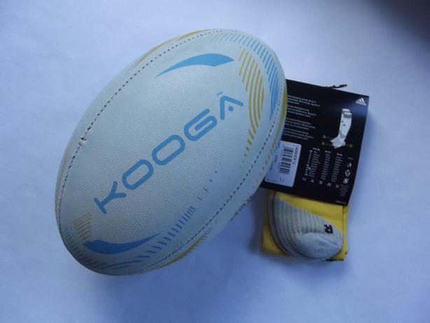 Piłka do rugby KOOGA + getry adidas