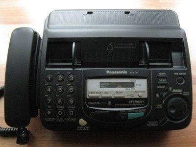 Telefax z automatem zgłoszeniowym Panasonic KX-FT67PD
