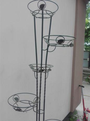 Металлическая стойка для цветов, стойка