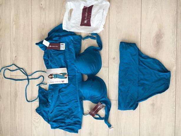 Купальный костюм, бирюзовый купальник, туника фирма  Anabel Arto 54