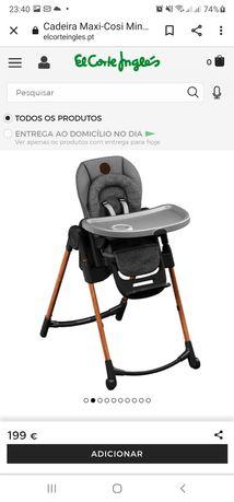 Cadeira de Alimentação (como nova)