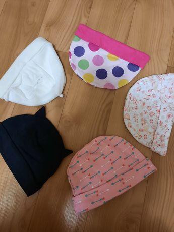 Шапочки на новорожденных, шапочки на девочку, бетмен, повязки, солоха