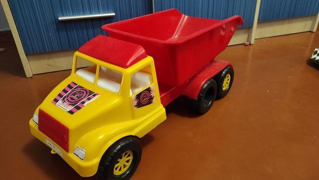 Большой грузовик самосвал игрушечная машина