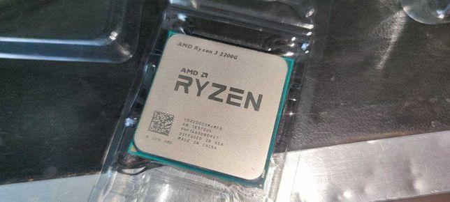 AMD RYZEN 3 2200g (3.5-3.7 GHz, 4 Cores)