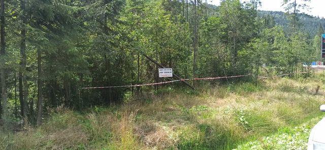 Продам участок Поляниця(Яремче) , Буковель в районі перевернуті хати.