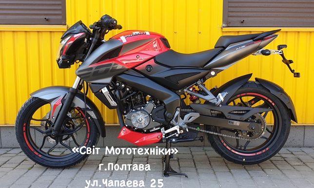 Новый мотоцикл Bajaj Pulsar NS200 модель 2020-года ducati