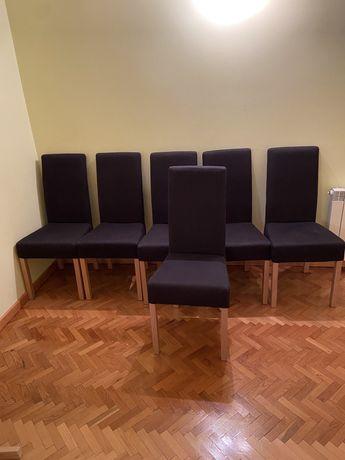 6 krzeseł do salonu/jadalni