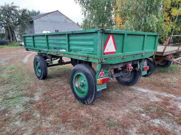 Przyczepa Autosan d-46 sztywna transport laweta Złoczew