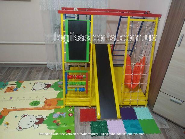 Качели, детский спортивный комплекс 1,5-2 м, горка, игровая площадка