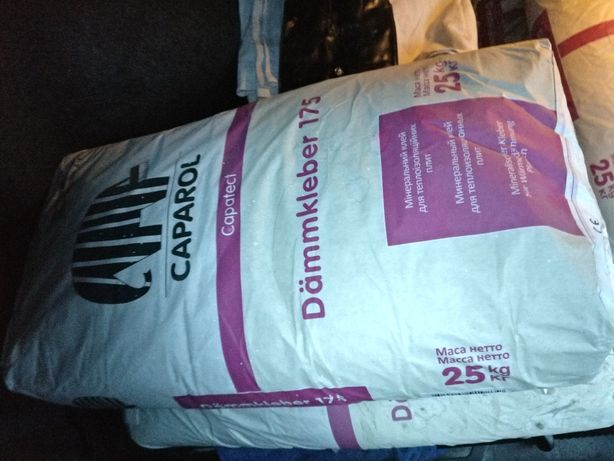 Капарол клей мінеральний 25 кг