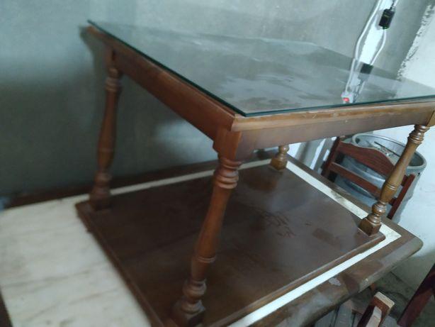 Mesa de centro 100% madeira