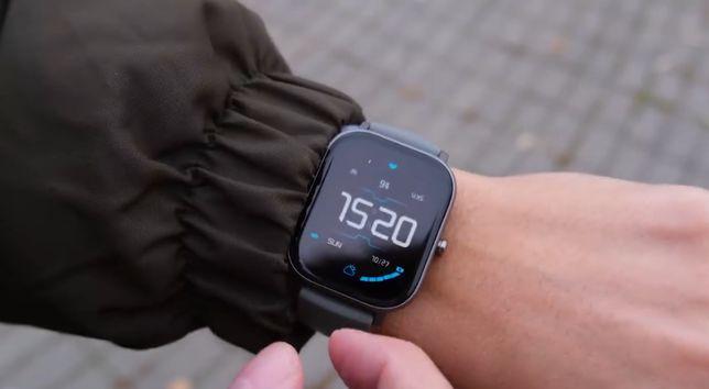 Amazfit GTS BLACK Глобальная версия (черные) Новий годиник