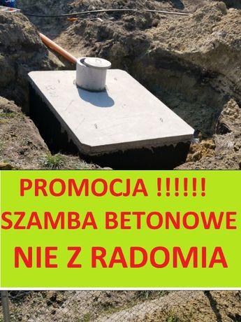 ŻYRARDÓW i okolice szamba betonowe Szambo 4-8 10 12m3