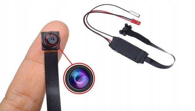 Mini kamera szpiegowska IP HD wifi ukryta detekcja