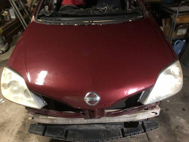Nissan Primera P12 1,6 benzyna kolor AX5G anglik wszystkie części