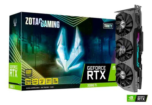 Zotac Gaming Geforce® RTX 3080 Ti Trinity Triple Fan 12GB GDDR6X