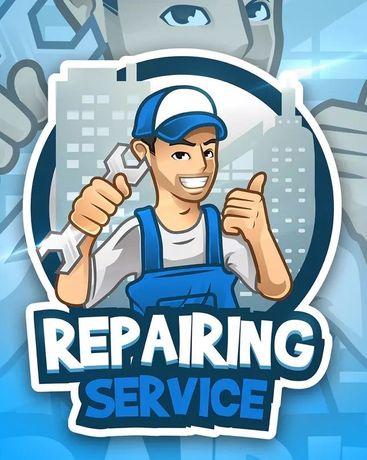 Ремонт стиральных машин, ремонт холодильников, ремонт бойлеров