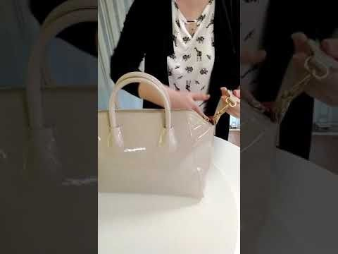 Лаковая сумка Орифлейм
