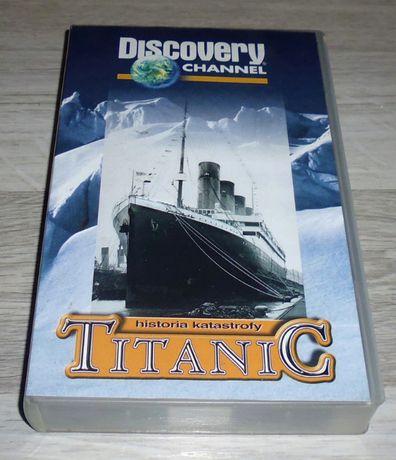 Titanic - historia katastrofy Discovey CHANNEL VHS