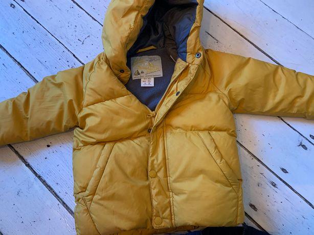 Zimowa kurtka Zara r. 98 - stan bdb