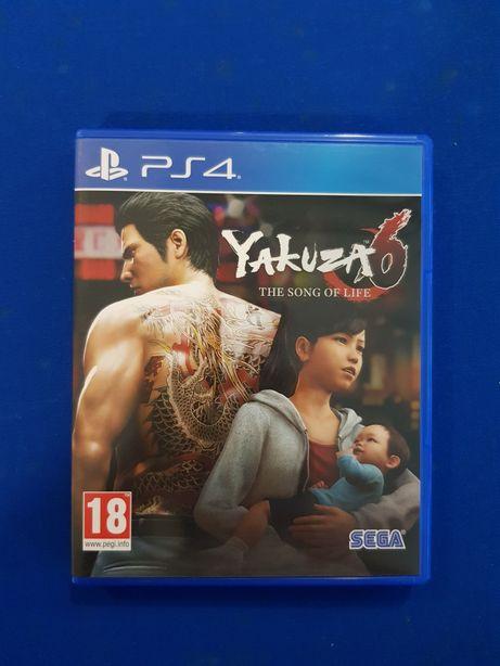 Vendo Yakuza 6 PS4