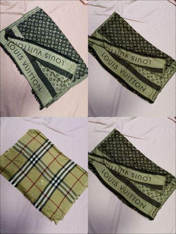 Szal Louis Vuitton Burberry nowość różne koloryw bawełna