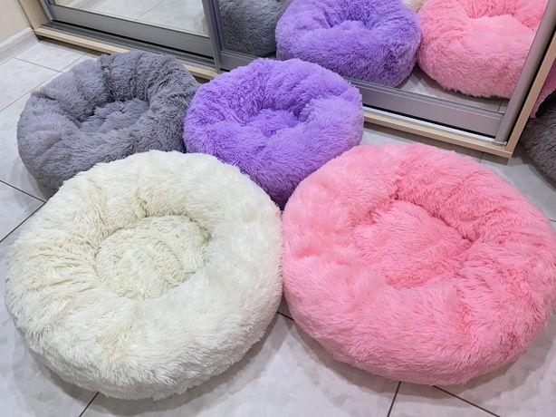 Лежак круглый ,лежанка для собак и котов плюшевая кроватка  питомца)