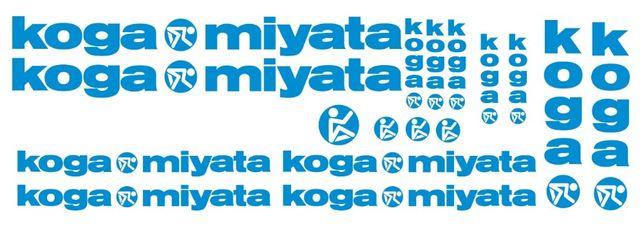 Koga Miyata autocolantes bicicleta