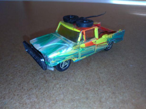 Vintage Majorette No 225 Dodge Safari Pick-Up escala 1:80