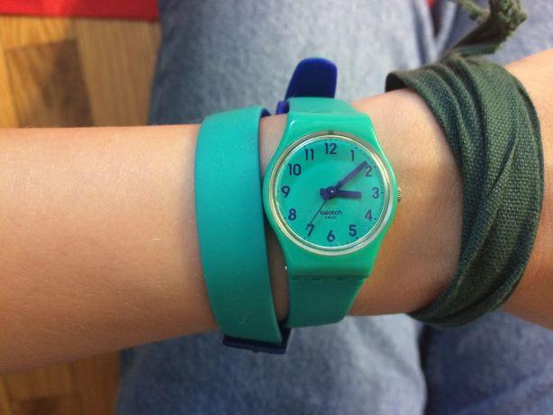 Relógio Swatch Bracelete Dupla