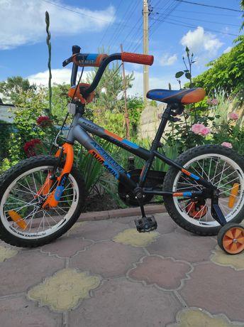 Детский велосипед Azimut Stitch 16″ оранжевый