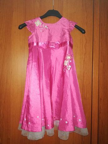 Sukienka elegancka różowa rozm. 92