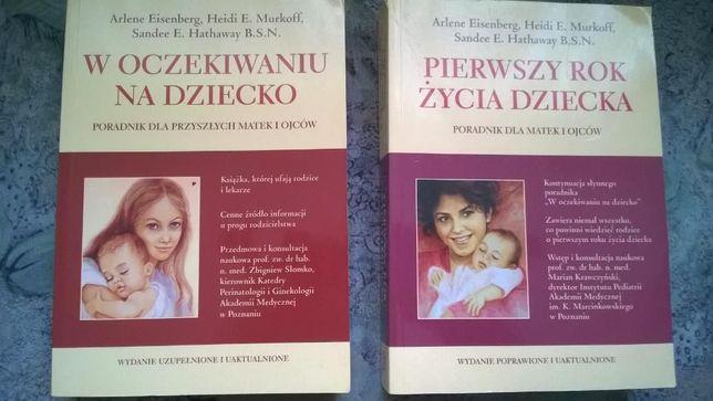Zestaw trzech książek dla przyszłych matek i ojców