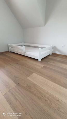 Łóżko dziecięce białe 160x80 domek - OD RĘKI - PRODUCENT