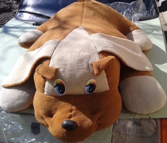 Большая собака 1 метр огромная мягкая на подарок собачка для подарка