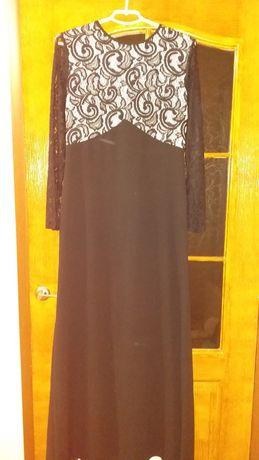 Красивейшее вечернее платье со шлейфом