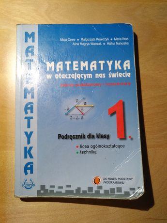 Matematyka Podręcznik dla klasy 1. zakres podstawowy i rozszerzony