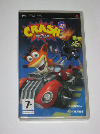 Gra Crash Tag Team Racing PSP bdb 3xA