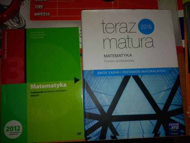 Podręcznik Matematyka do kl.3 oraz Zbiór zadań maturalnych 2018